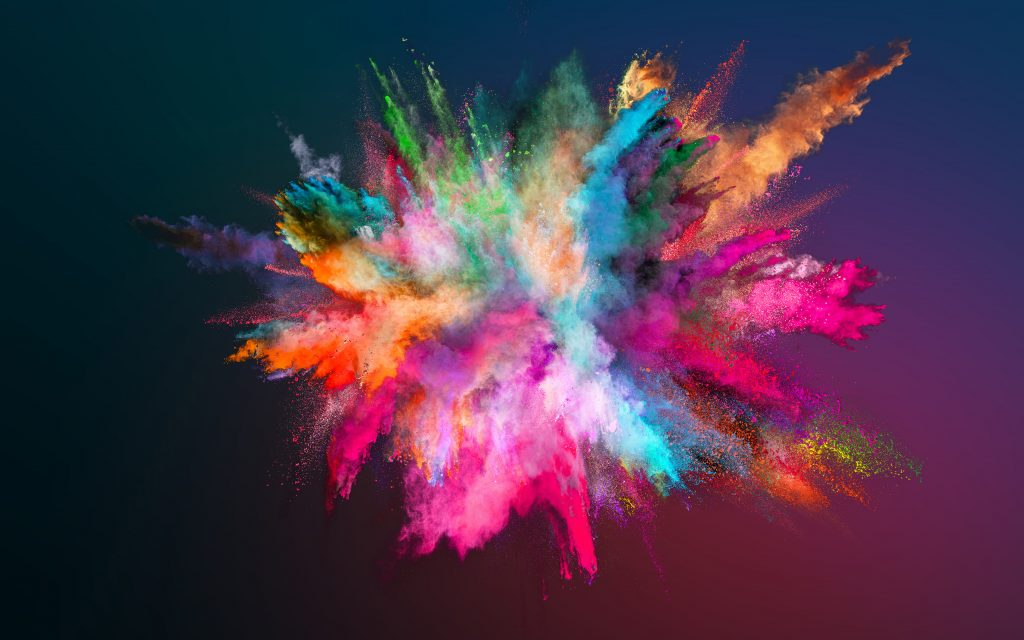 Colour pigments. Photo supplied by BASF