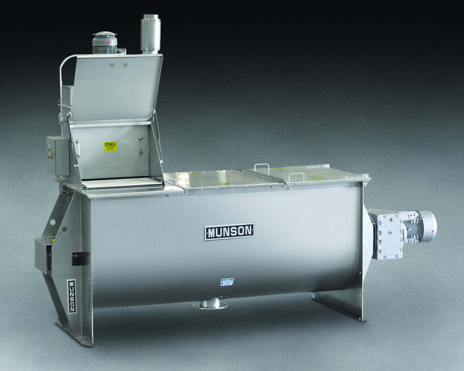 Munson Machinery Ribbon Blender HD-3.5-9-SS