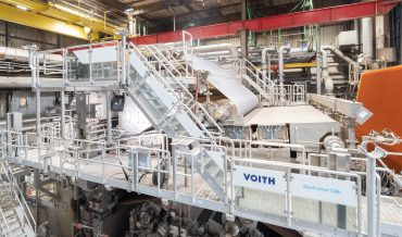 Voith's DuoFormer CBh installed at Smurfit Kappa's Roermond Papier