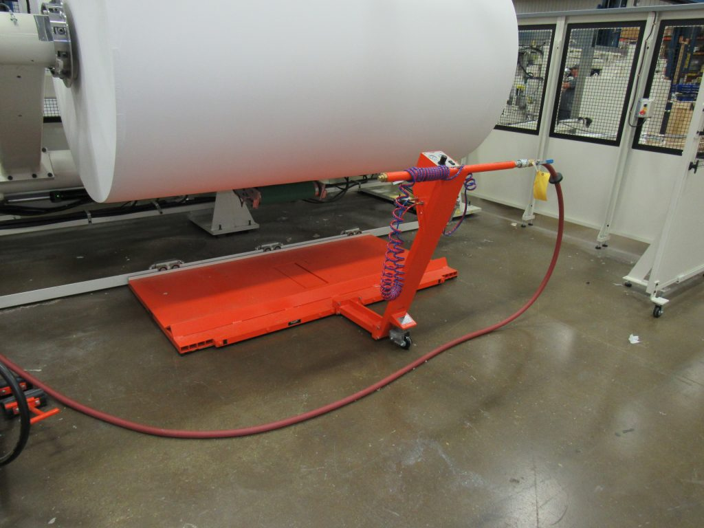Paper pushers: using air casters in the paper mill
