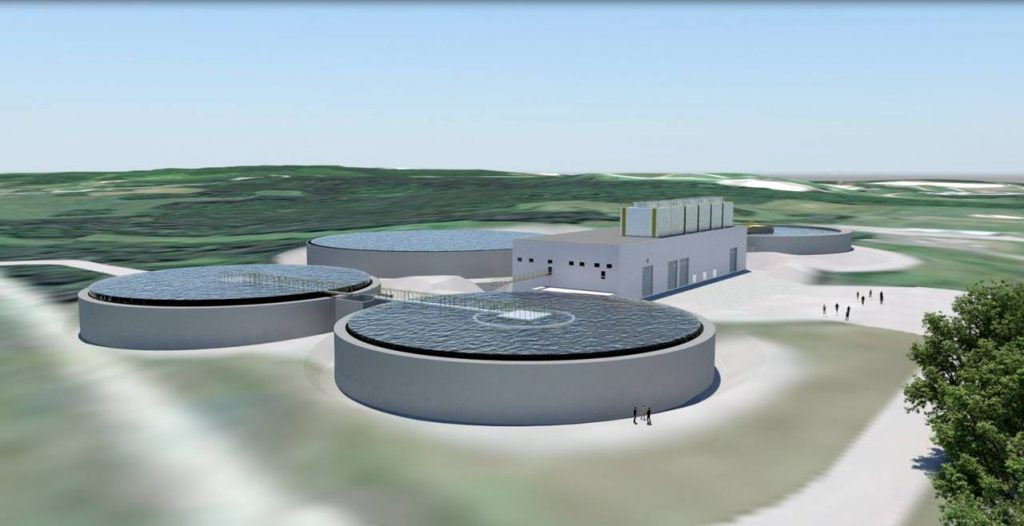 Northern Pulp's proposed effluent treatment facility would consist of an activated sludge system. Photo courtesy Paper Excellence Canada