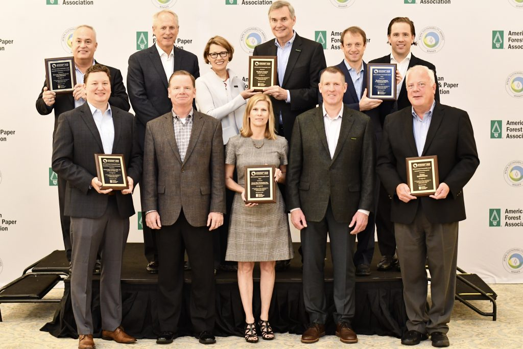 AF&PA 2019 Sustainability Awards winners