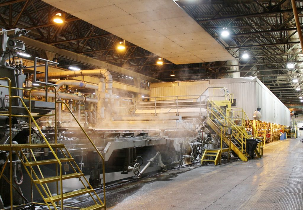 ND Paper's R9 machine will receive upgrades to its wet end