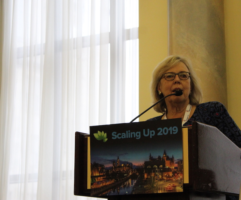 Scaling Up Bio Elizabeth May