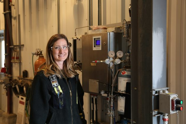 The Millar Western team is continuing to study ways to further optimize the process and resulting biogas and power generation. Photo: Alberta Forest Products Association