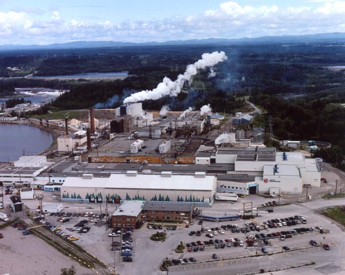Resolute's Kénogami, Quebec paper mill. Photo: Resolute Forest Products