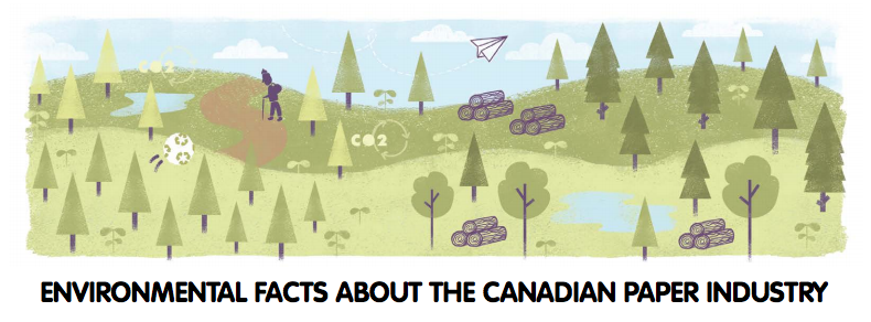 Two Sides North America has released a fact sheet on Canada's paper industry and the environment. Photo: Two Sides