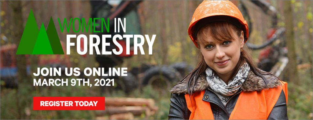 Coming soon: The Women in Forestry Virtual Summit is Mar. 9!