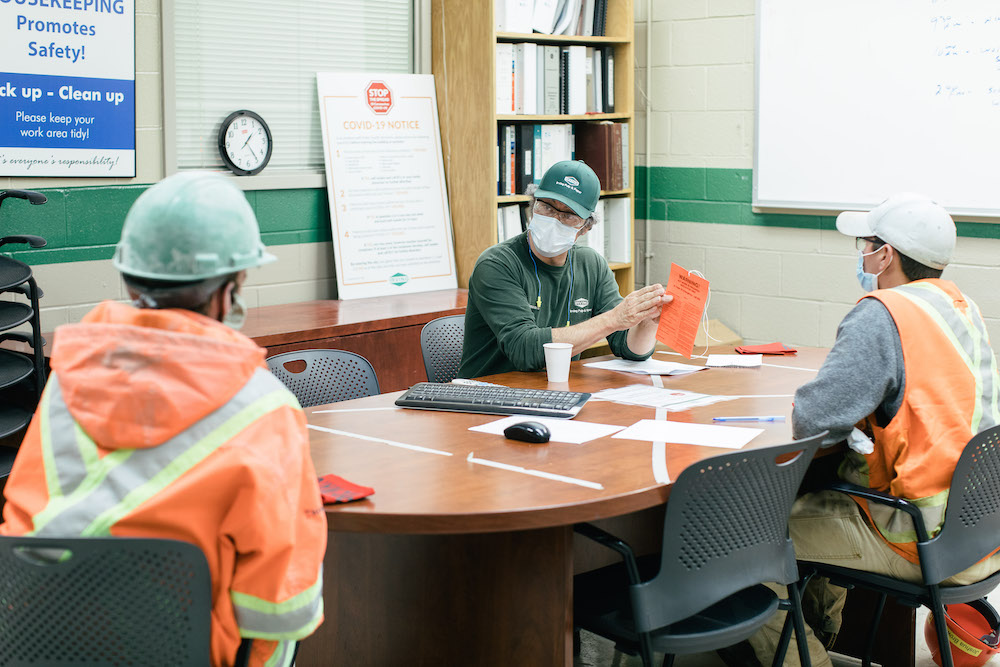 Safe for work: Reflecting on safety during the pandemic